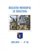 Bulletin Municipal Juin 2015