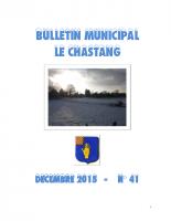 Bulletin Municipal Décembre 2015