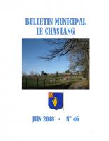 Bulletin Municipal Juin 2018