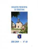 Bulletin Municipal Juin 2019